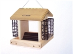 2.5 Quart 2-Sided Hopper, Hanging, Suet Cages