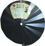 Wraparound Disk Squirrel Baffle