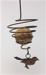 Bird Spiral Suet or Fruit Feeder