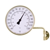 Vermont Dial Thermometer (Brass)