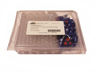 Convenience Pack, R.A.V. Clear Vials w/ Caps: Septa: Silicone/PTFE