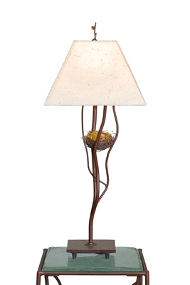Decorative Unique Handmade Accent Iron Bliss Nest Table Lamp for Living Room,Bed Room,Office,Housewarming