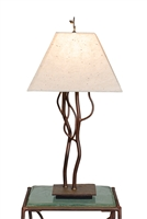 Unique Decorative Handmade Accent Iron Soul Mates Table Lamp for Living Room,Bed Room,Office,Housewarming