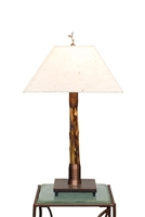 Breeze Brown Bamboo Lamp