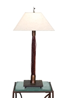 Tall Breeze Red Cedar Lamp