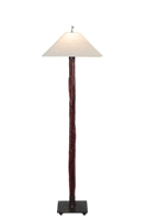 Unique & decorative handmade  Breeze Cedar accent floor lamp for office,living room,bed room,housewarming