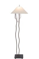 Unique & decorative handmade happily together accent floor lamp for office,living room,bed room,housewarming