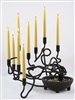 Handmade Iron Candle Holder - Wind Swept