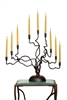 Handmade Iron Tree of Light Menorah