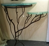Double Wild Crescent Moon Accent Table