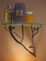 "Golden Twigs 23"" Shelf"