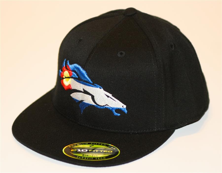 5648e10cf DBroncs Flex Fit Cap - Black