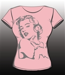 Marilyn Youth Tee by Brawlin
