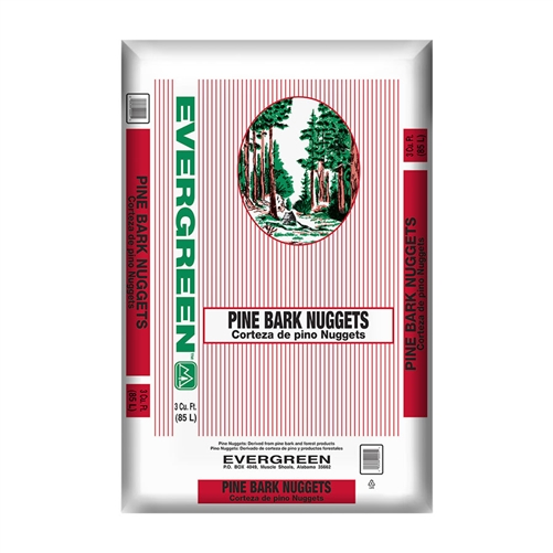 Evergreen Pine Bark Nuggets 3 Cf