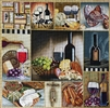 1048 Wine & Cheese Collage