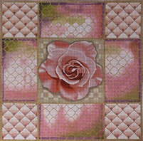 1063 Pink Rose Rose Collage
