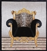 1072c Leopard Chair