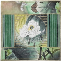 1103 Waterlily Collage