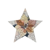 115e Gold Tree Topper Star