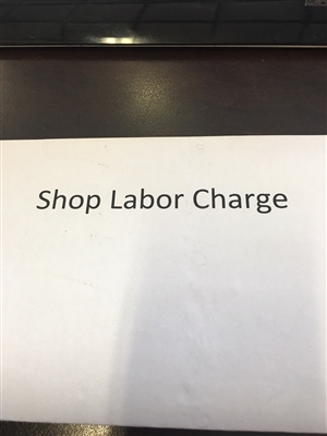 Shop Labor Time