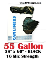 55 Gallon Garbage Bags Can Liners 55 GAL Trash Bags