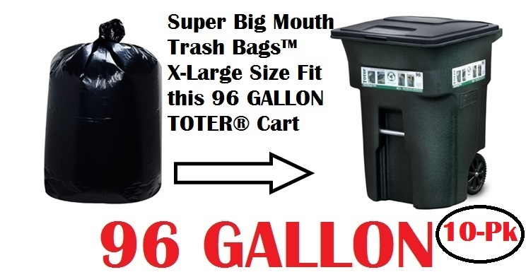 Free Shipping On Super Mouth Trash Bags