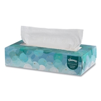 KLEENEX 21400 2-Ply White Facial Tissue Pop-Up Boxes 36 x 100ct.