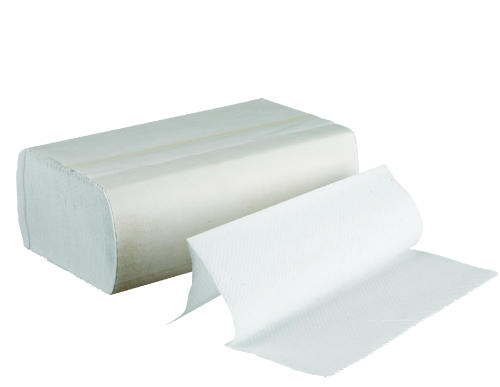 white multi fold or tri fold dispenser towels