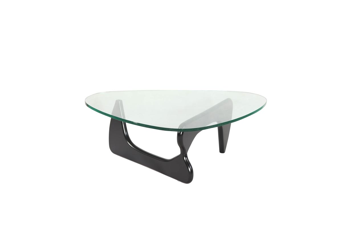 Isamu Noguchi Coffee Table With Black Base