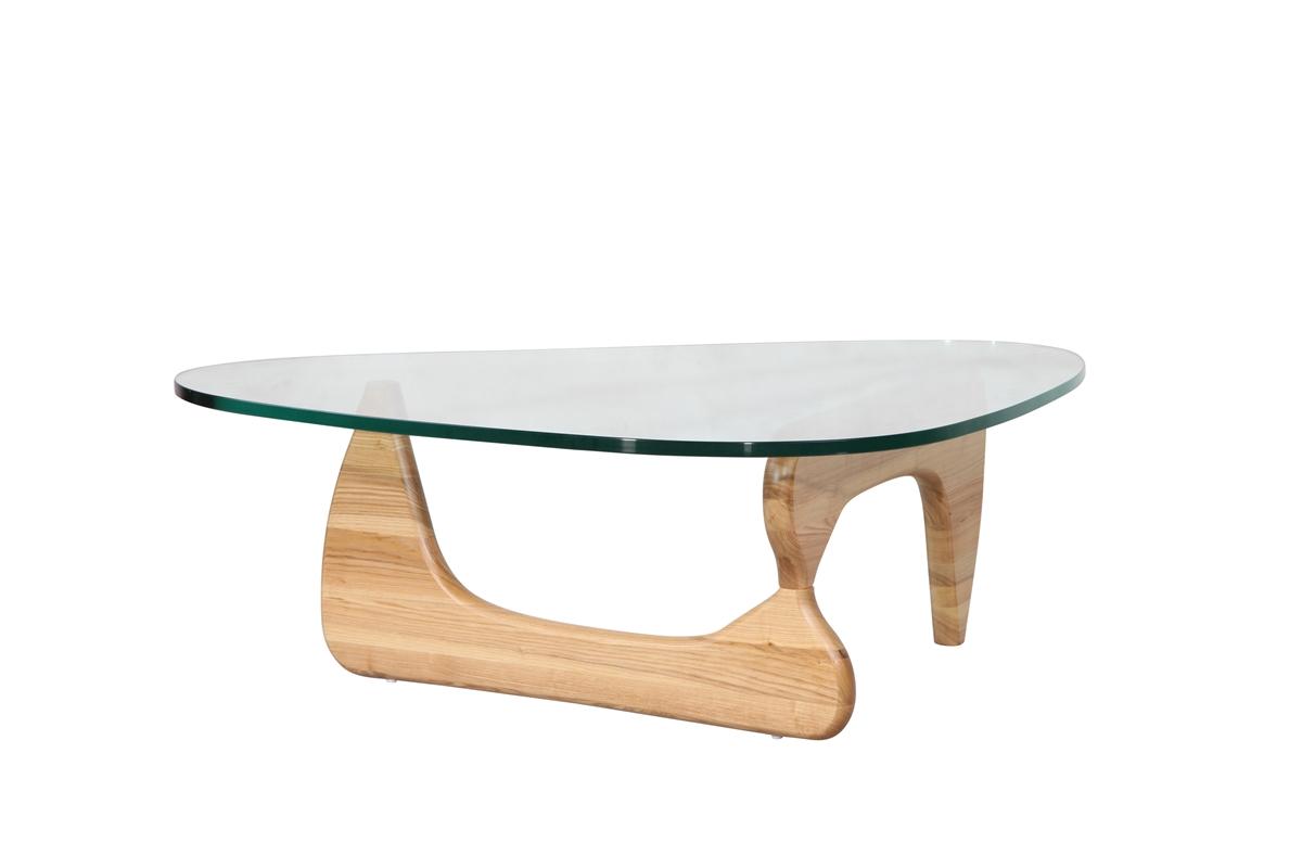 Isamu Noguchi Coffee Table With Natural Base