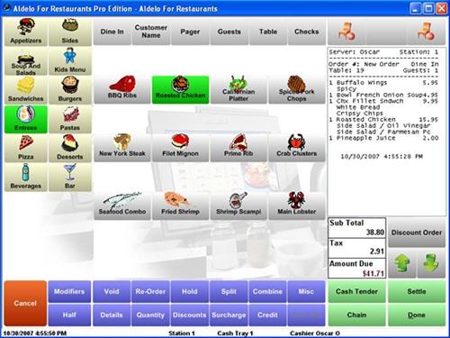 Restaurant Pos System Manufacturer Part Number Aldelo
