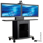 Cart (32 Inch, Tall, Holds Up To One 65 Inch Or Two 50 Inch Screens)