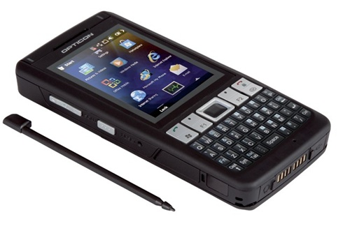 H21a Rugged Windows Mobile 6 5 Smartphone With 1d Barcode Scanner Kit English