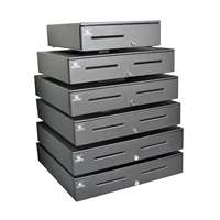"Apg Cash Drawer S4000;No Coin Roll Storage Till; Painted White; 18 X 16"" item known as : JB320-CW1816"