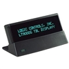 Lt9000 Table Display (9.5Mm, 2-Line X 20-Character Display, Serial Interface, Rj11/Db9F Connector And Logic Controls Command Set) - Color: Dark Grey