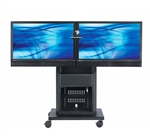 Cart Supports Dual Displays Up To 47 Inch