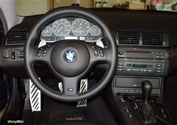 BMW E38, E39, E46, E53, E83 Paddle Shift Kit