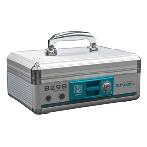 B298 Aluminum Portable Cash Box