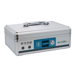 B398 Aluminum Portable Cash Box