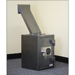 FD-2014LS Protex Rear Loading Depository Safe w/ Drop Chute