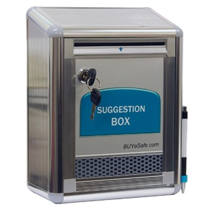 G-B09 Aluminum Suggestion Box