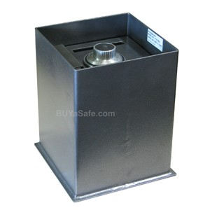IF-1212SC Business Floor Safe w/ Drop Slot