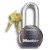 "M6230LH Pro Series High Security Padlock 2-1/2"" Body"