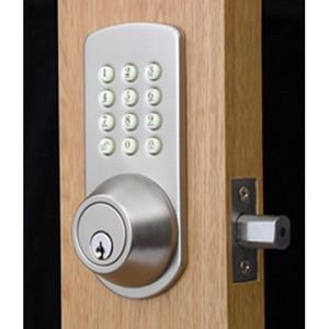 Buy Touchpad Electronic Deadbolt Lock For Keyless Entry Pfk