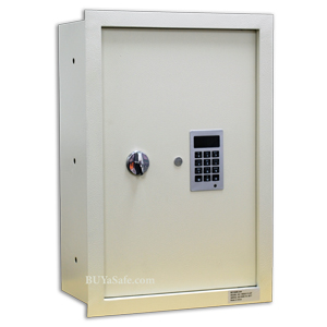 WES2113-DF Fire Resistant Electronic Wall Safe
