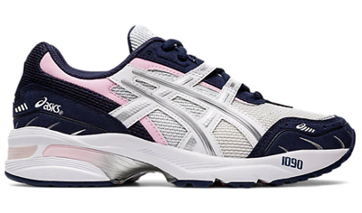 Asics GEL-1090 Women's - White/ Pure Silver