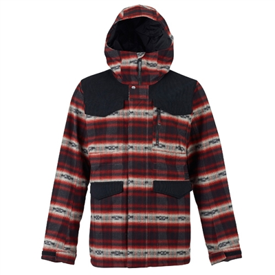 Burton Men's Covert Jacket - Fired Brick Azerk