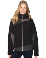 Spyder Women's Lynk 3-In-1 Jacket- Black/ Weld Crosshatch/ Weld