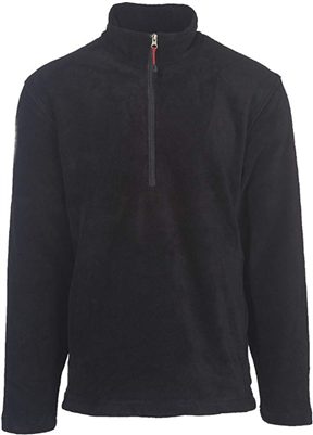 Woolrich Men's Andes 1/2 Zip Jacket - Black