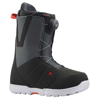 Burton Moto BOA Gray Red Men's Snowboard Boot